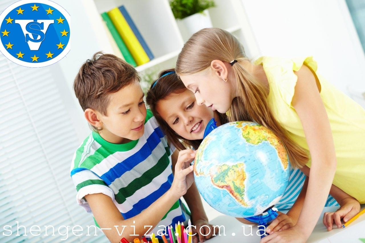 Процесс оформления визы для детей от А до Я